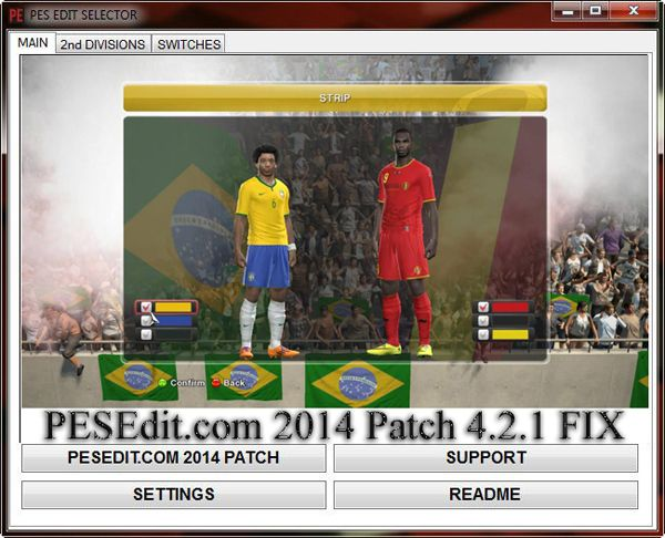 PESEdit.com 2014 Patch 4.2.1 FIX