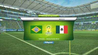 Pro Evolution Soccer 2013 Scoreboard FIFA World Cup 2014