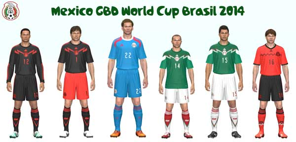 Mexico GDB World Cup 2014