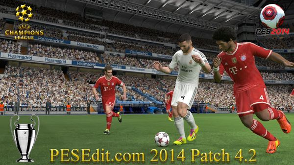 PESEdit.com 2014 Patch 4.2