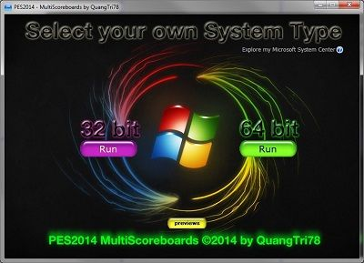 PES 2014 MultiScoreboards Tool