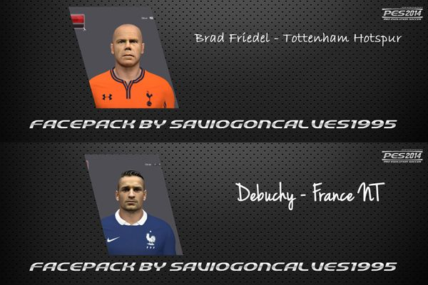 Debuchy и Brad Friedel 2014 face