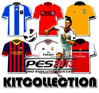 PES 2013 Kits Kitcollection 2014/15 GDB