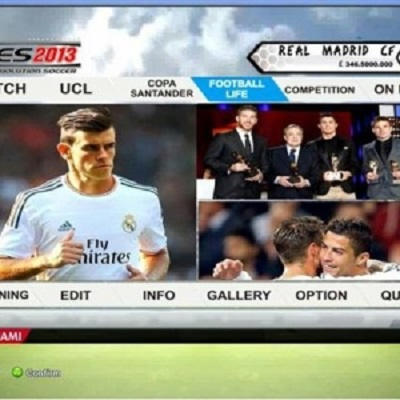 PES 2013 Graphic FIFA14 (Real Madrid)