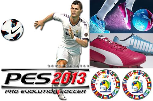 New Boot Pack PES 2013: Worl Cup Brazil 2014