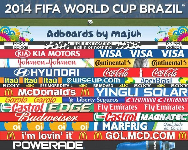 FIFA World Cup Adboards