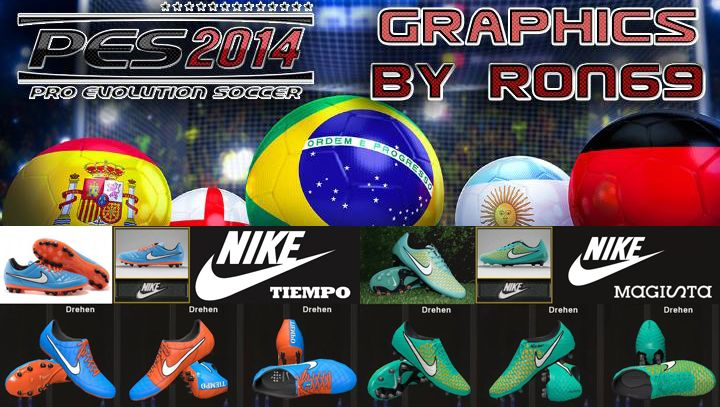 Football Boots 2014 by Ron69