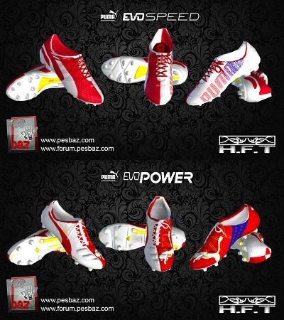 PUMA evo SPEED & evo POWER boots