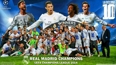 "Real Madrid Startscreen ""CL Winner 2014"""