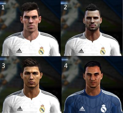 New Faces Real Madrid