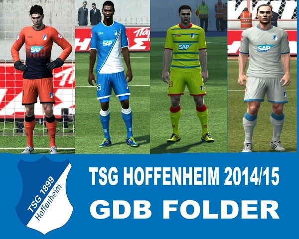 Pes 2013 Kits Hoffenheim 2014/15 by argyris