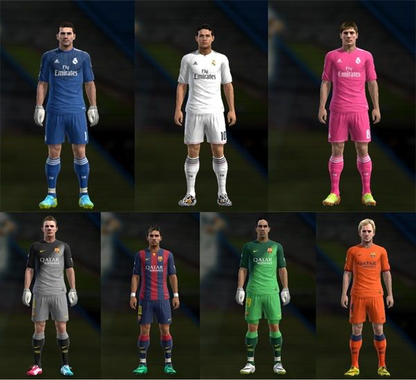 New Kits Real Madrid & Barcelo...