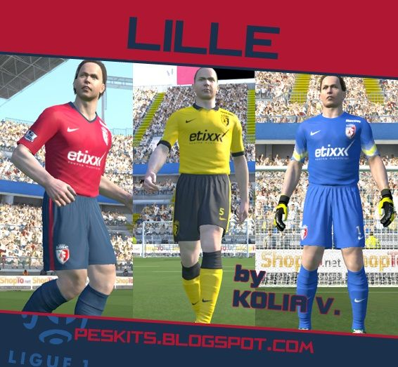 New Kits Lille Gdb 2014/15