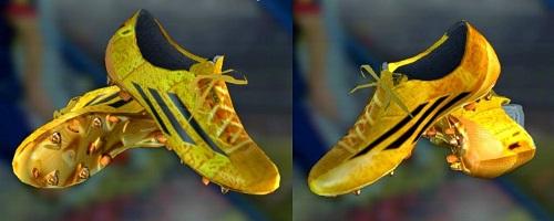 Adizero F50 Messi GoldBlack Boots