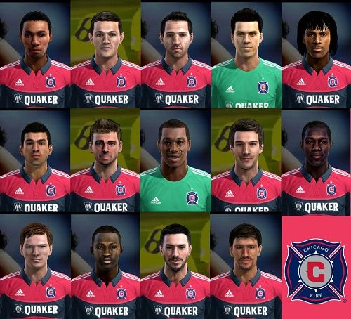 Chicago Fire Facepack