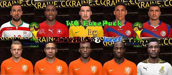 WC 2014 FacePack