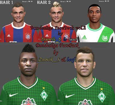 Bundesliga FacePack