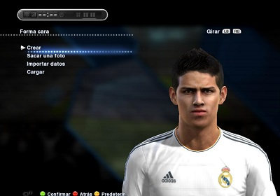Pes 2013 James Rodriguez Face by Ilhan