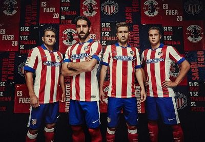New Kits Atletico Madrid GDB 2...