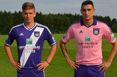 New Kits Anderlecht 14/15 Vers...