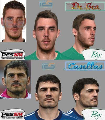 Faces Goalkeepers