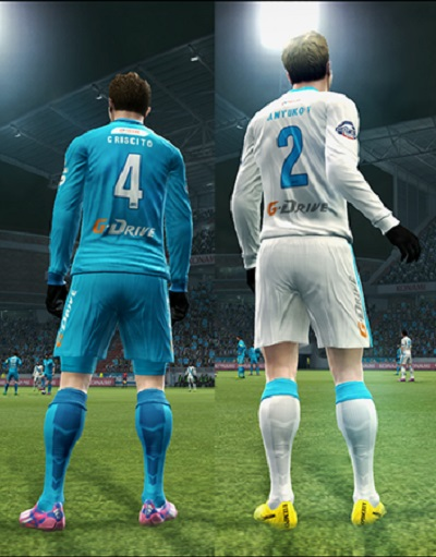 New Kits FC Zenit Update 2014/...
