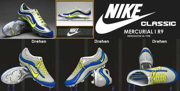 Nike Mercurial Vapor XV Limited Edition 1998 Mercurial