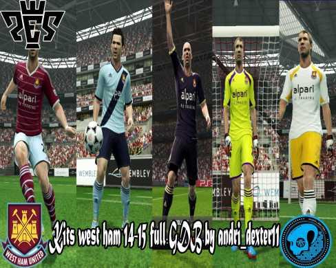 New Kits West Ham 2014/15 Full...