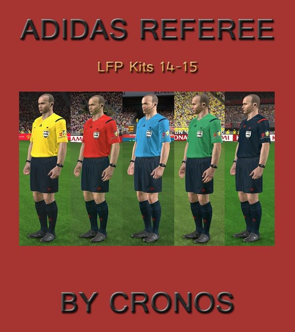 New Adidas Referee Kits LFP ...