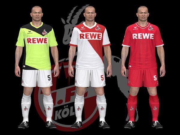New Kits 1.fc Köln 14/15