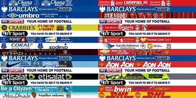 Premier League Adboard Pack