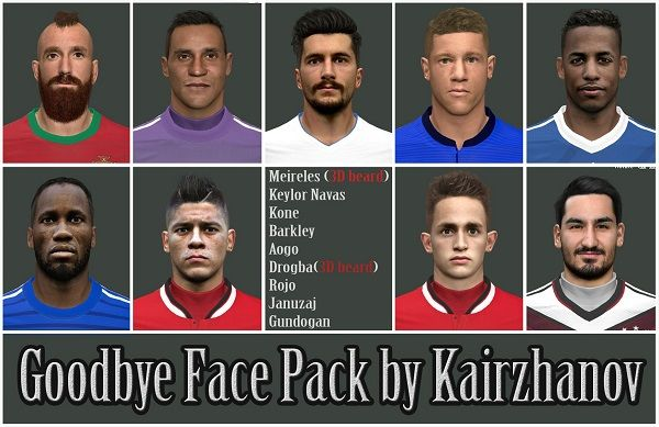 Goodbye facepack