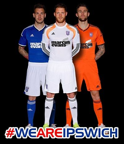 Pes 2014 Ipswich Town Kits 14/15 by Tunevi