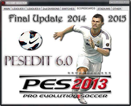 футбол 1 онлайн Update: Final Update PESEdit 6.0 Season 2014/15, патчи и моды