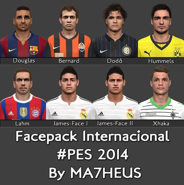 Facepack Internacional #7
