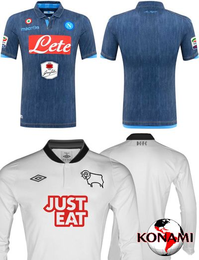 New Kits Napoli Jeans & Derby ...
