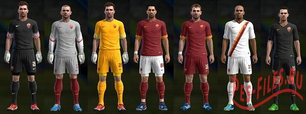 New Kits AS Roma 2014/15