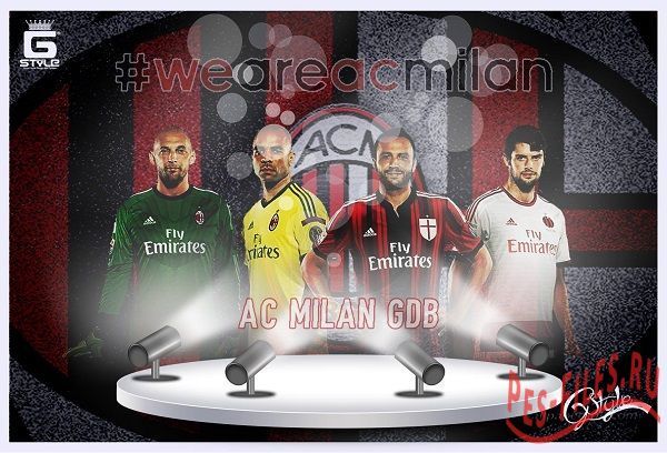 GDB New Kits  Milan 14/15