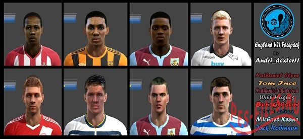 England U21 Facepack