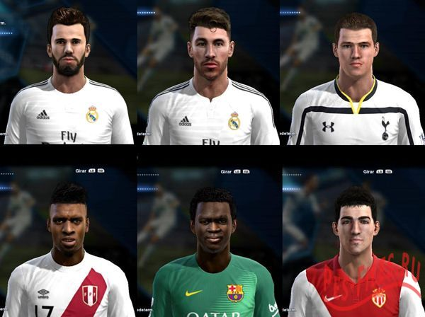 Update FacePack 3 PES 2013