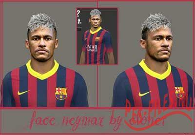 Face Neymar 2014