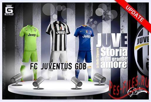 Juventus 2014/15 GDB UPDATE