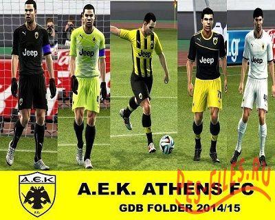 A.E.K. ATHENS FC 2014/15