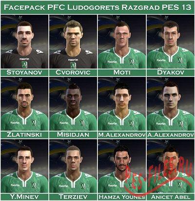 Facepack PFC Ludogorets Razgra...