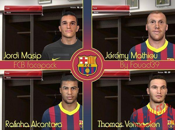 FC Barcelona Mini Facepack