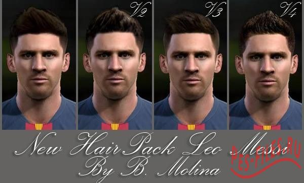 New Face & Hairs Leo Messi