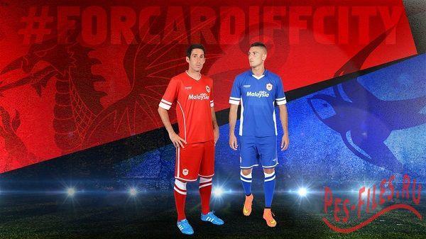 GDB Kits Cardiff City 14/15