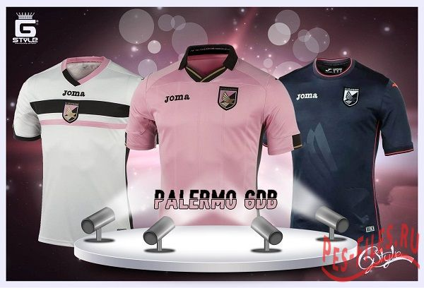 Pes 2014 New Kits Palermo 2014/15 GDB by G-Style