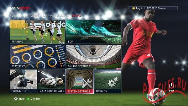 PES 2015 Licence Patch 1.01