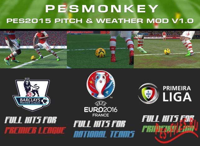 PES2015 Pitch & Weather Mod V1...